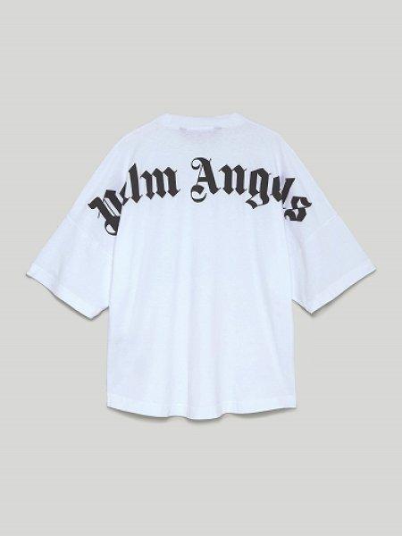 画像1: Palm Angels LOGO T-SHIRT パームエンジェルス バックロゴTシャツ【正規取扱店販売品】 ご注文確認後即日発送 / 送料無料 (1)